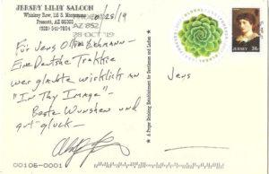 Postkarte an Ollie Lehmann