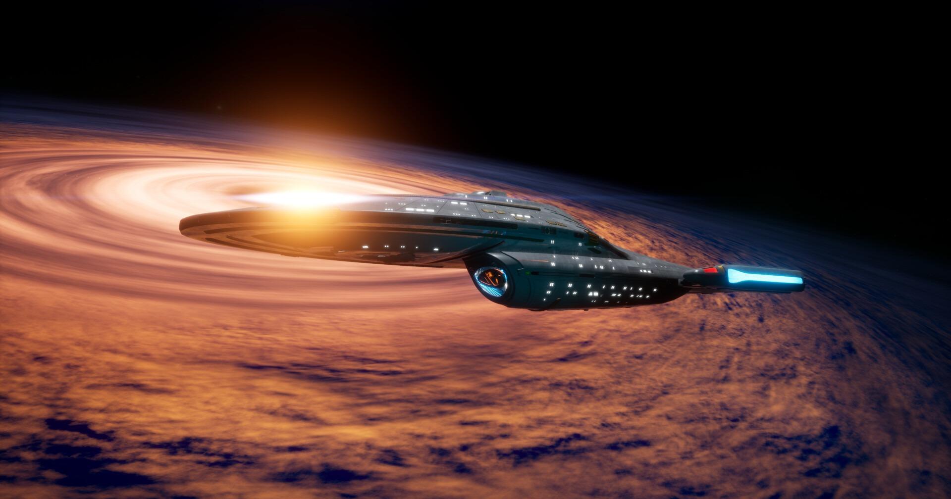 Star Trek Videospiel Vorschau STVGP - Die U.S.S. Voyager